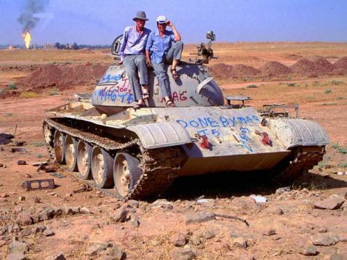 Visiting the Kirkuk oil-field
